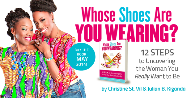 My New Book: Whose Shoes Are You Wearing?