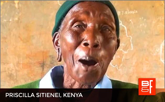Priscilla Sitienei, Kenya