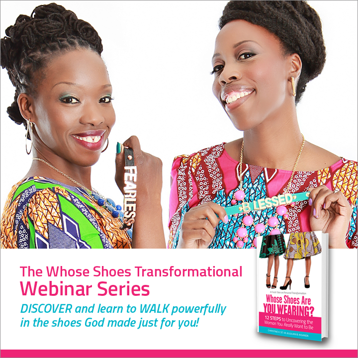 Sign up for the Whose Shoes Transformational Webinar Series starting January 21, 2015