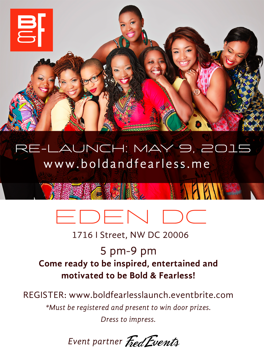 Bold & Fearless Launch Party