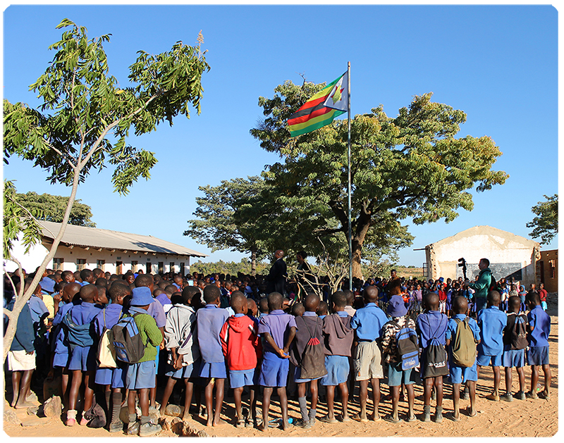 Matau Primary School in Zimbabwe, Tererai Trent International