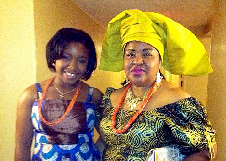 Uju Obianwu and Mother