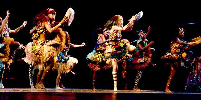 Batoto Yetu African dance