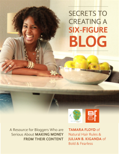 Secrets to Creating a 6-Figure blog