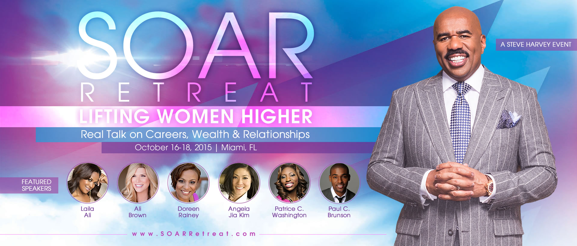 SOAR Retreat with Steve Harvey Miami, Florida