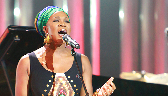 "India.Arie Reminds Us to ""Breathe"": Inspired by the Movement for Black Lives"