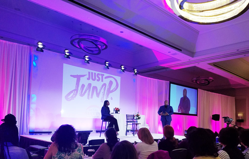 Gerald & Patrice Washington telling their story at Act Like A Success 2017