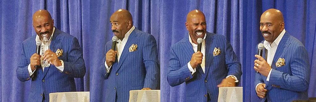 Steve Harvey Keeping It Real